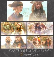 Pirates of the Caribbean - syngatures by Isabella-Parlay