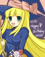 Happy Birthday Witch by cafe-delight