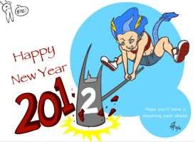 Happy New Year 2012 by s7eventan