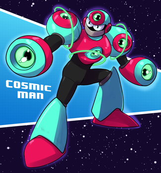 Cosmic Man by Zucchinna