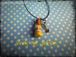 Drink Me Potion by Sweetfairytalecrafts