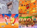 Rocko's Remake Montage: 4 Images In One by xandermartin98