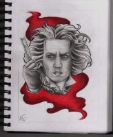 Sweeney Todd tattoo design by Frosttattoo