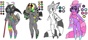 Custom Furry Batch 03 by TechSupportGirls