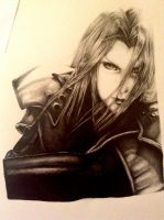 Sephiroth - WIP by FinalFantasy981