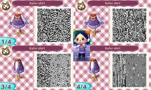 [AC-NL] Kafei Shirt QR codes by Attention2Detaille