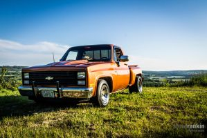 1983 Chevy by steverankin