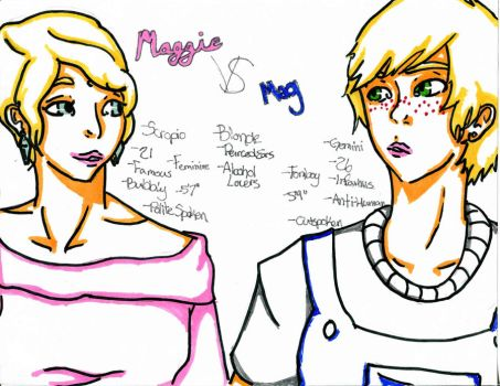 Maggie Vs Mag: The Difference by MissMillinu
