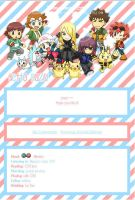Pokemon DP Journal Skin by kiraga-neko