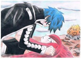 Jellal and Erza by belletzx