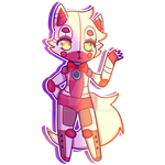 FNAF SisLo: Funtime Foxy by Neon-DoNUTs