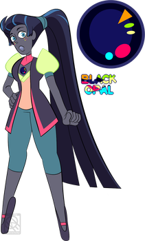 Surprise Custom Black Opal for NimuAdopts by XombieJunky