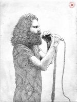 Collection Room 27 - Jim Morrison (no color) by PabloJuradoRuiz