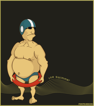 The swimmer by mocon