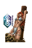 Red Sonja Render by Corvasce1982