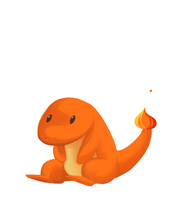 Charmander by Lucia-Conchita
