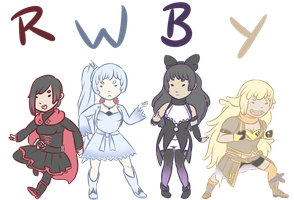 RWBY Chebs by ChannelerJaydin