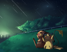SS: Meteor Showers by Jiayi
