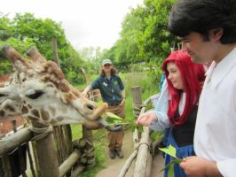 Eric and Ariel at the Zoo 03 by bluepaws21