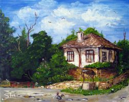 Old Bulgarian House by XThrill