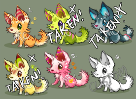 Puppy Kits Paypal Adopts [3 left!] by melonycreations