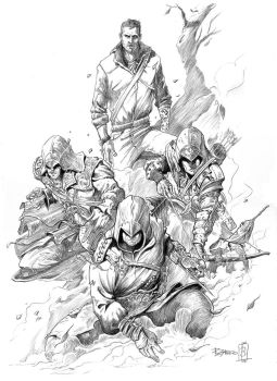 ASSASINS`S CREED by PacoZarco
