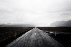 Road 1 cloudy day by bLuesounet