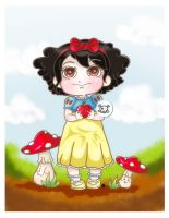 Chibi snow white by Soan-c