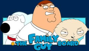 Family Guy Board by TheBlueCasket