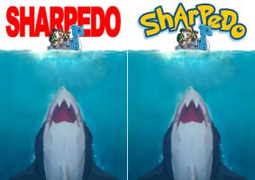 papercraft Sharpedo covers by ninjatoespapercraft