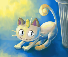 Alley Cat by kephre