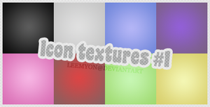 Icons Textures #1 by leemyon