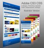 Adobe CS3 AI Journal Skin by Thewinator