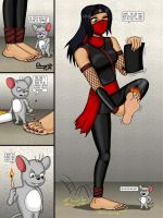 Commission:  Mouse of pain - part 1 by grippedchimp