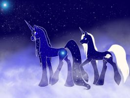 Sisters of the Stars by WhiteWing1