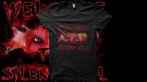 Welcome to Silent Hill T-Shirt by cosplay-kitty