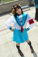 Haruhi Cosplay by Pompay