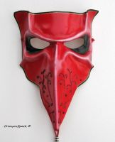 Crimson Bauta Mask by TasteOfCrimson