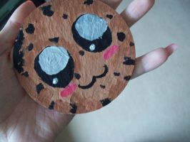 chibi cookie coaster by pencil-to-papaer