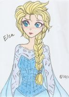Frozen - Elsa6 by Starshinesoldier