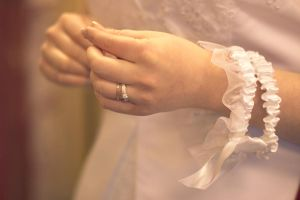 bride's hands by eyenoticed