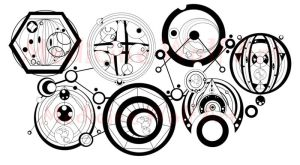 Gallifreyan Circle Script 2 by IkaikaDesign