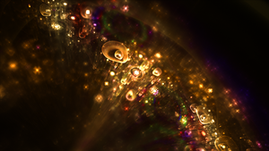 fractal wallpaper  : Golden luck by spinoza1996