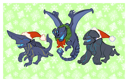 Holiday PacRims by heartbroken-girl