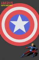 Cover homage Captain America in DKR 3 by Nick-Perks