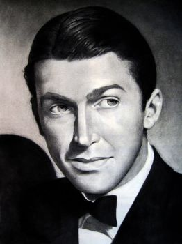 Portrait: Jimmy Stewart by lizarie