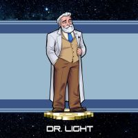 MMRedesign: Dr. Light by AdamWithers
