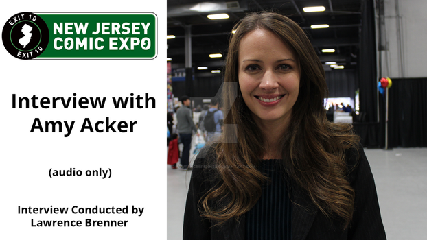 Amy Acker Interview Title Card by lawrencebrenner