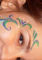 Eye Paint by Luthienshadows