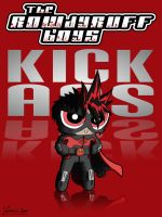 Rowdy Ruff Boys Red Mist by thesometimers